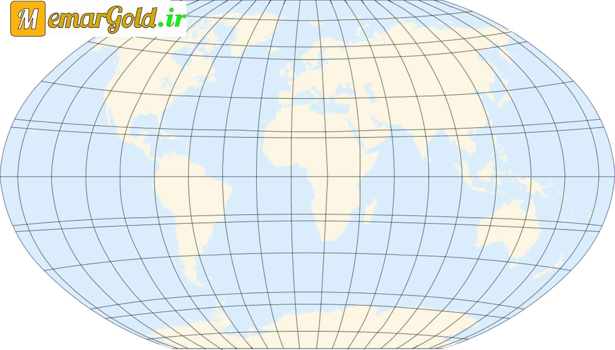 تعریف طول جغرافیایی- معمار گلد