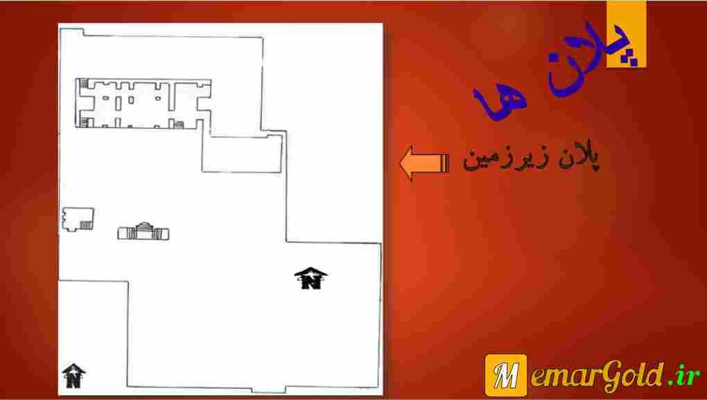 پلان مرمت خانه نصیرالدوله