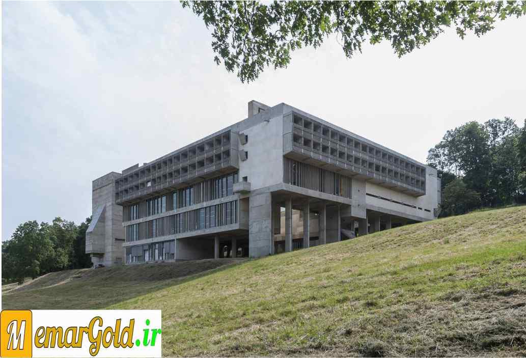 بروتالیسم: ساختمان سانت ماری دی لاتورت - لوکوربوزیه