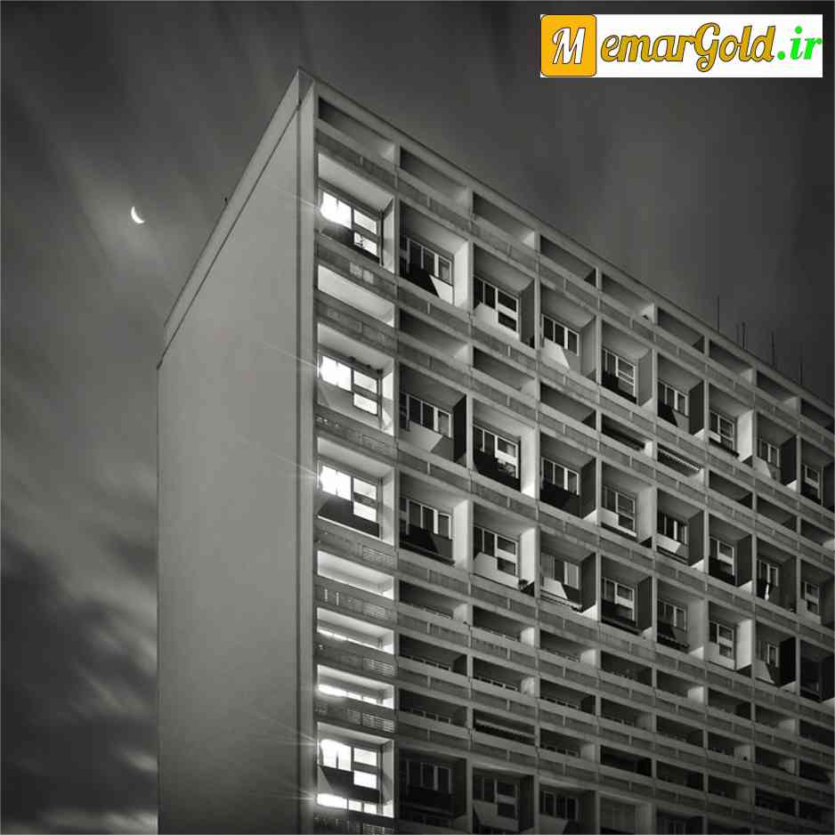 بروتالیسم: ساختمان یونیت دی هبیتیشن - لوکوربوزیه - معمار گلد