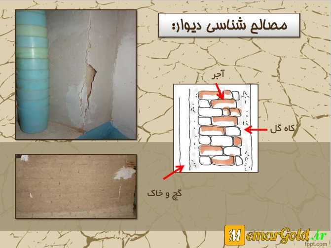 پاورپوینت مرمت مسجد میرپنج خامنه