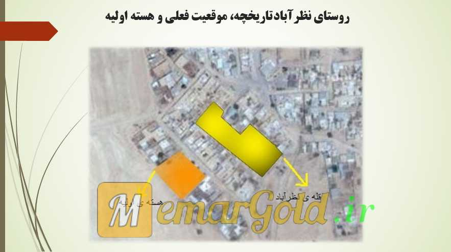 نقشه روستای نظرآباد سروستان