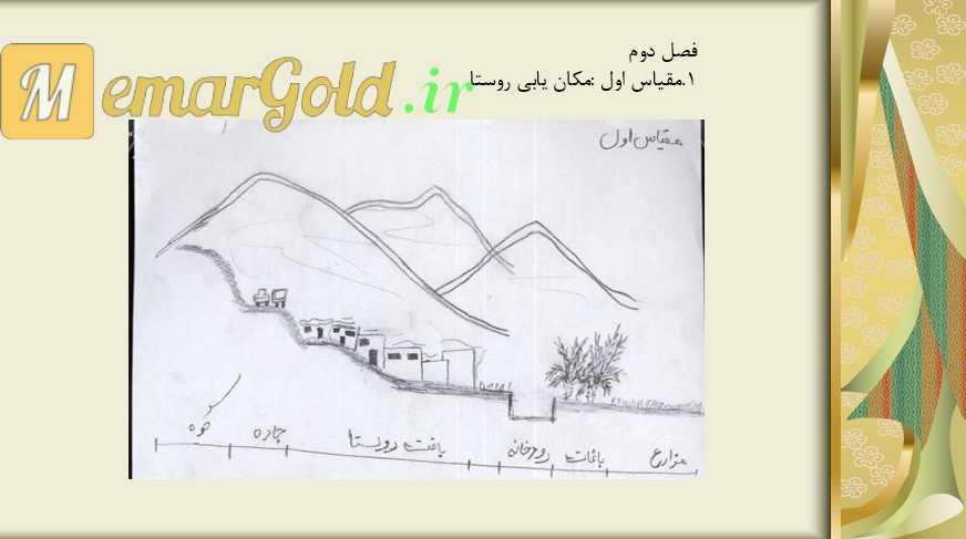روستای چاه گزی شهرستان مهر