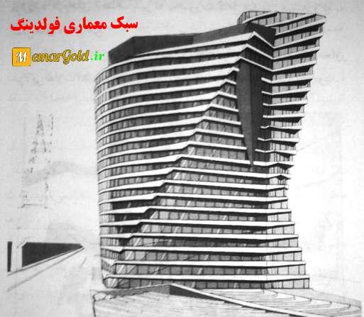پاورپوینت معماری فولدینگ