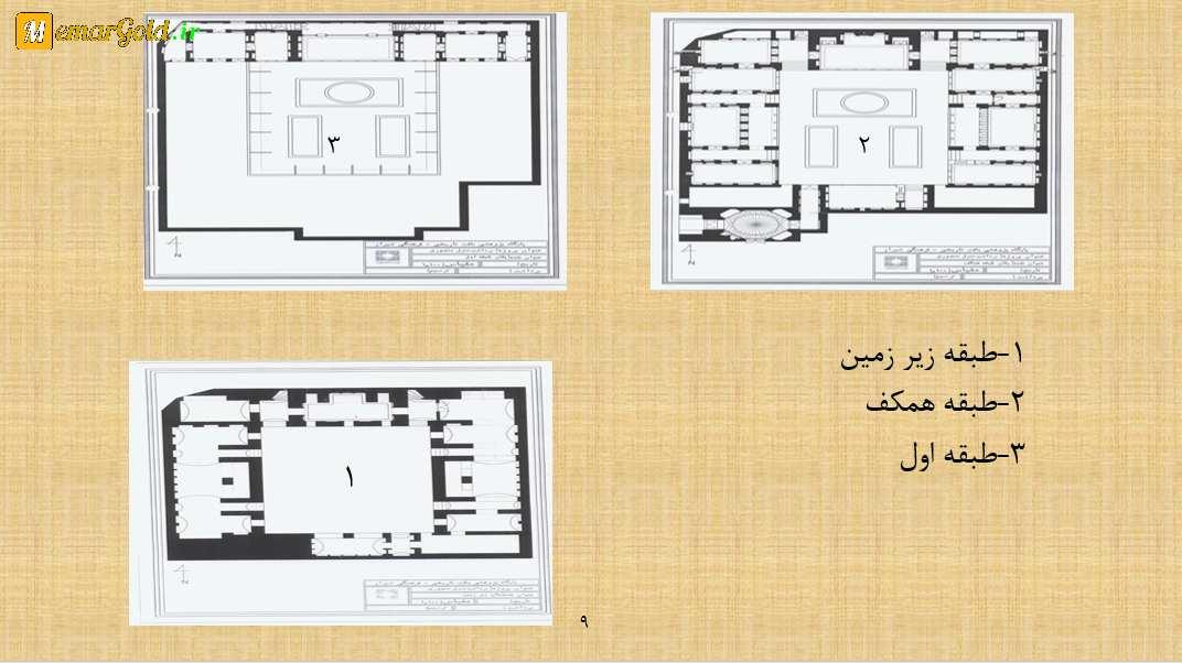 دانلود پروژه مرمت خانه منصوری