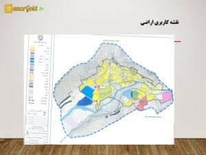نقشه کاربری اراضی روستای کریک