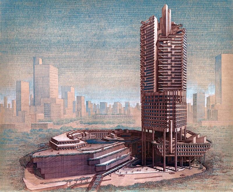 برج دفتر Office Concourse