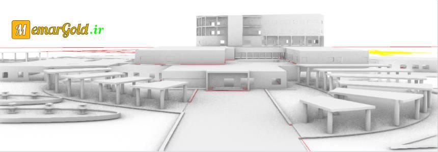 نقشه بیمارستان عمومی
