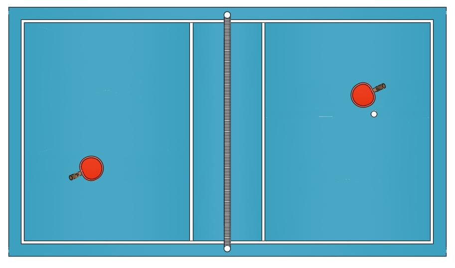 آبجکت میز تنیس ( پینگ پنگ) اتوکد دو بعدی و سه بعدی