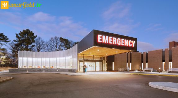 معماری اورژانس بیمارستان