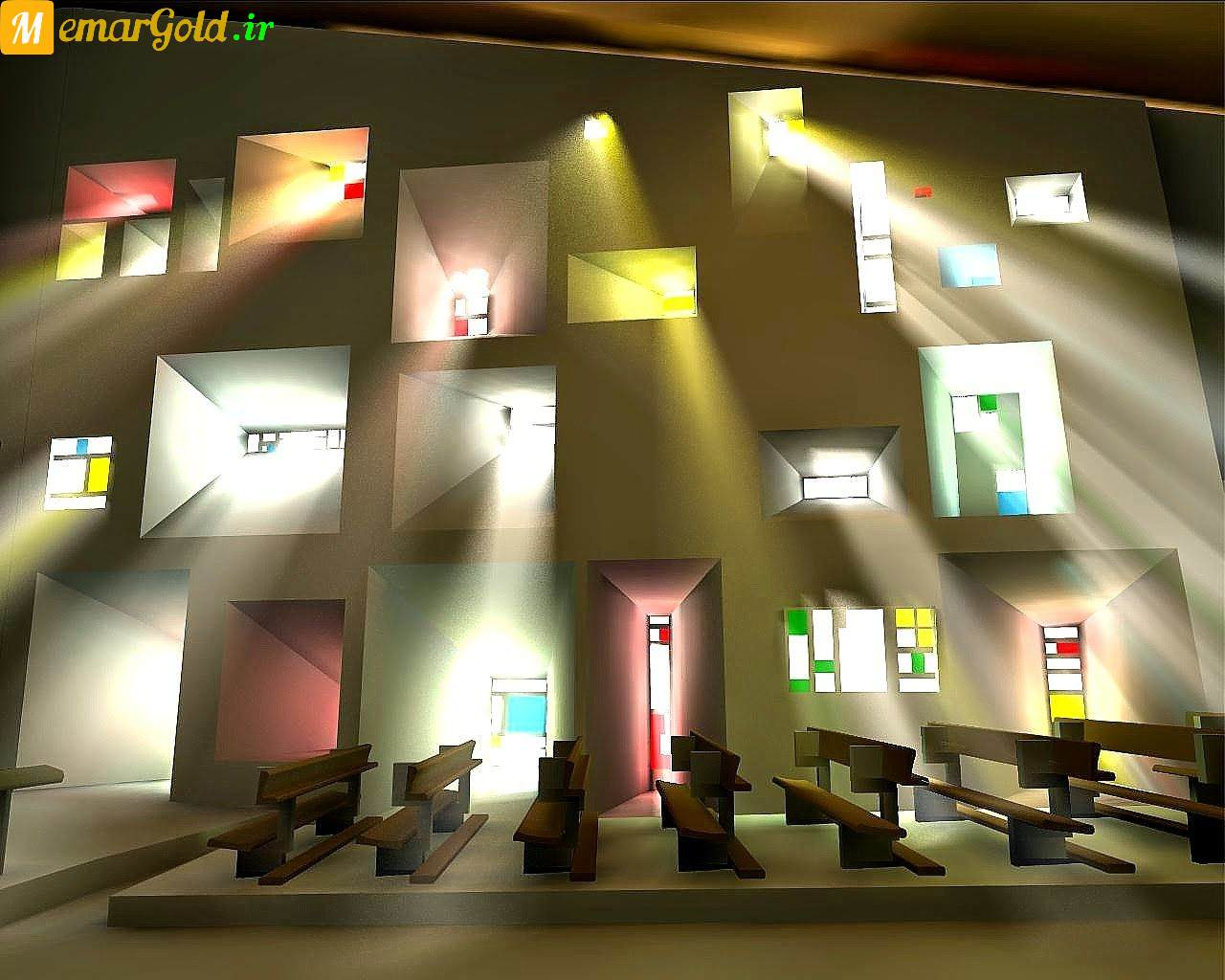 نورپردازی کلیسای رونشان