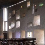 فضای داخلی کلیسای نوتر دام دوئو رونشان