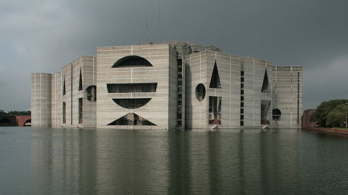 مجلس ملی بنگلادش داکا اثر لویی کان