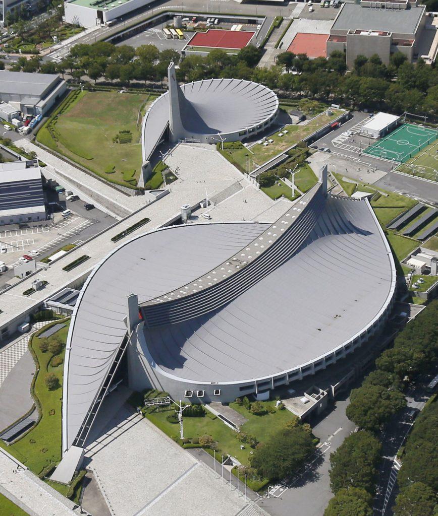 مجموعه المپیک توکیو ژاپن معماری مدرن متاخر