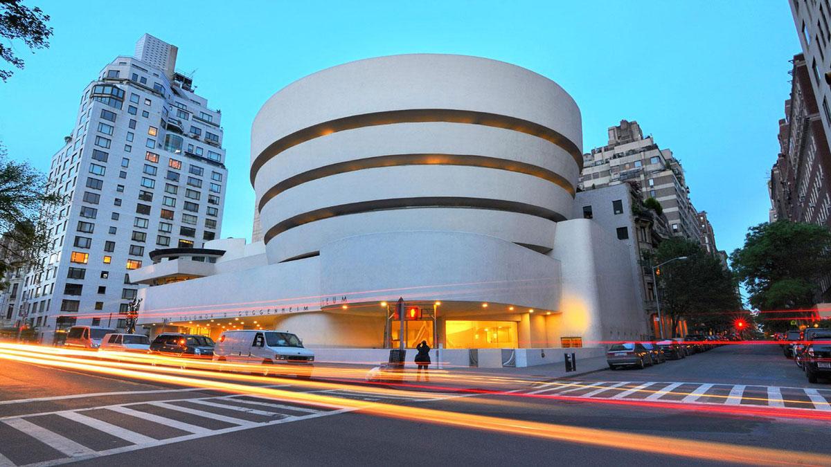 معماری مدرن متاخرموزه گوگنهایم