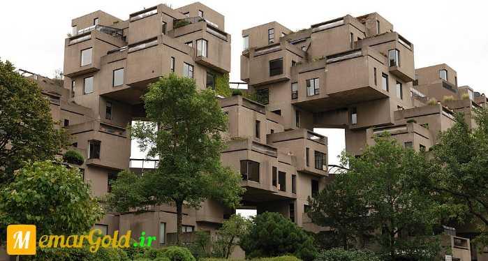 دانلود مطالعات معماری مجتمع مسکونی