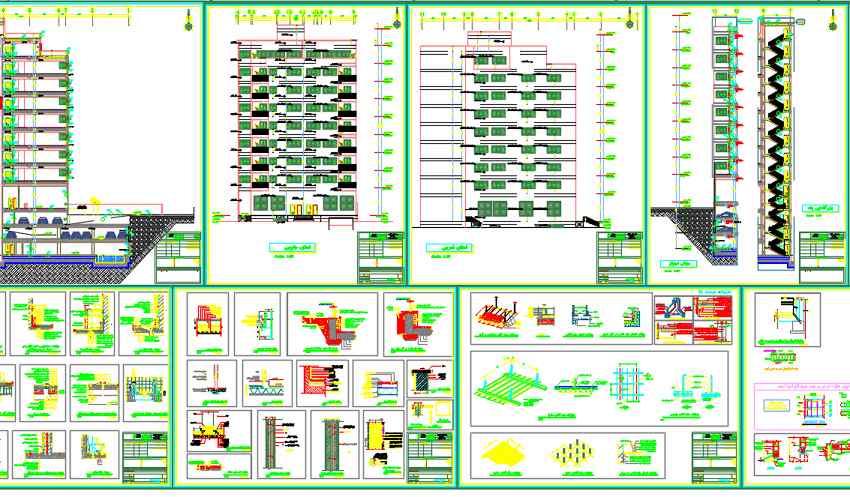نقشه مورد تایید نظام مهندسی