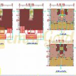 نقشه مسکونی 8 طبقه نظام مهندسی