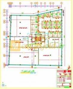 نقشه مورد تایید نظام و شهرداری